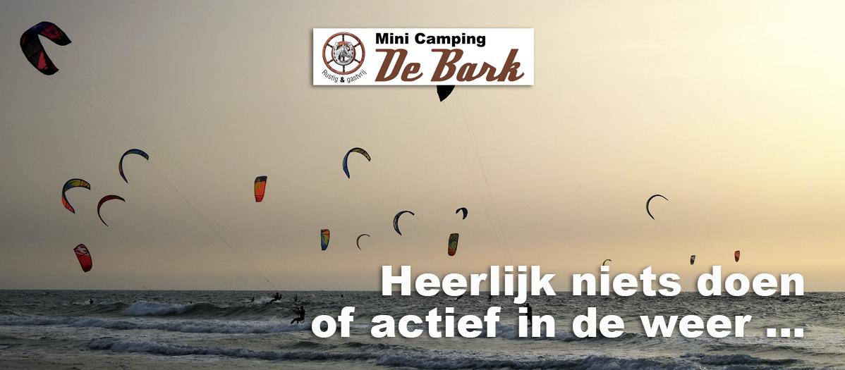 Activiteiten Minicamping De Bark