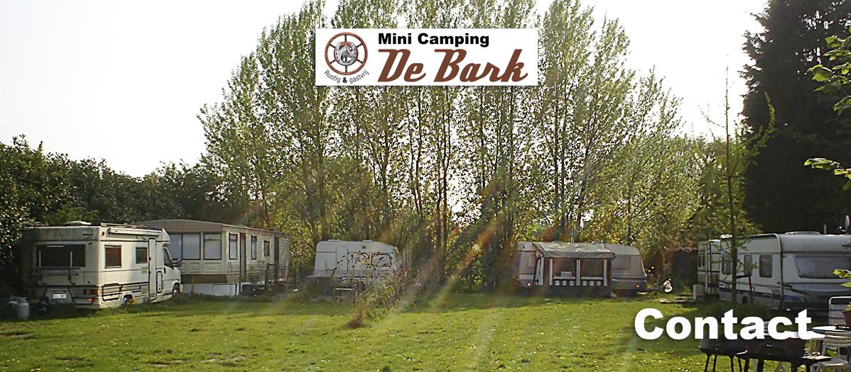 Contact Minicamping De Bark