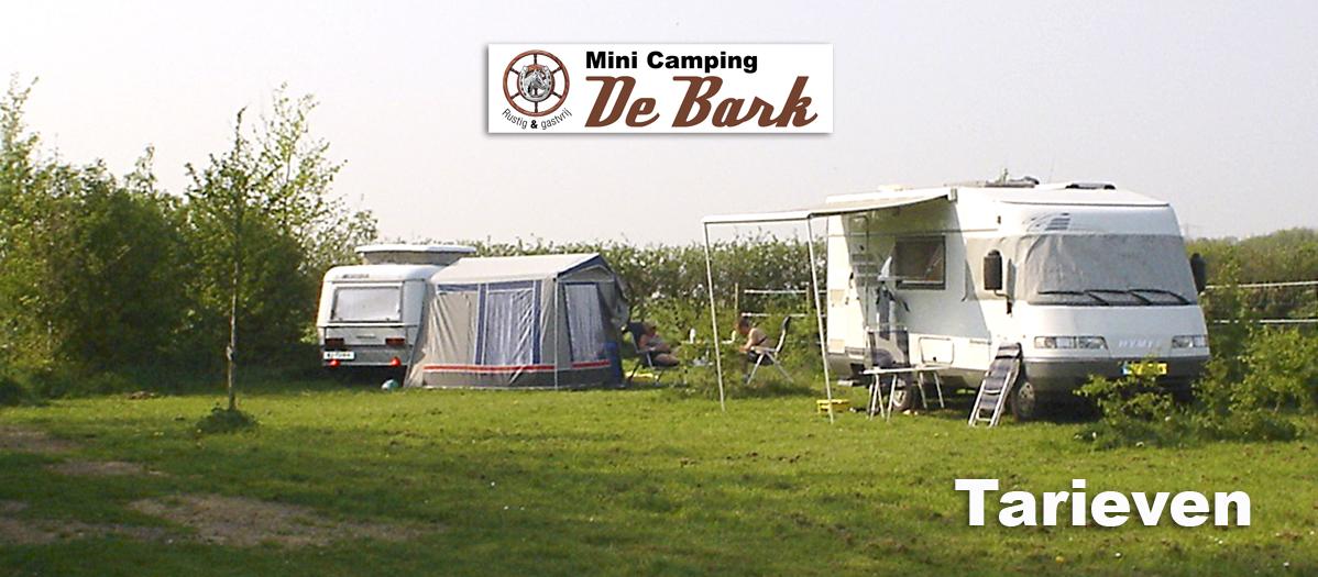 Tarieven Minicamping De Bark