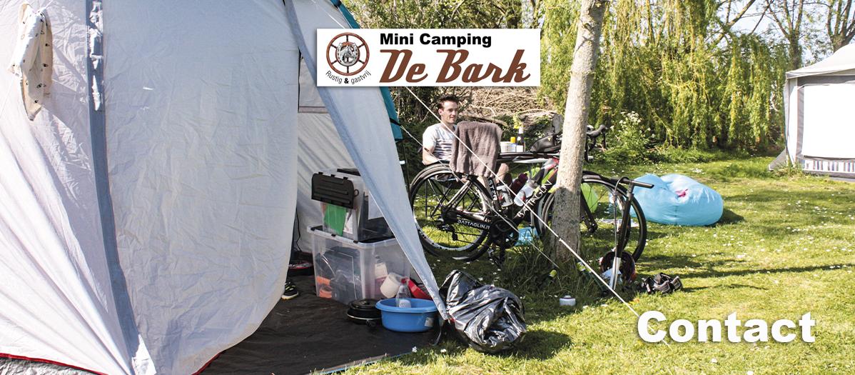 Minicamping De Bark - Contact